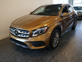 2018 Mercedes-Benz GLA GLA 250, GPS, TOIT PANO, SPORT PACKAGE
