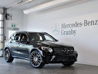 2019 Mercedes-Benz GLC AMG GLC 43, PREMIUM PACKAGE, MLS, CUIR BRUN