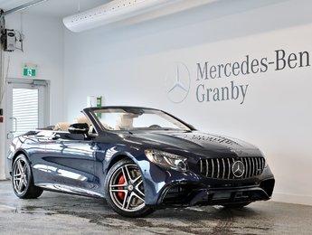 2019 Mercedes-Benz S-Class AMG S 63, Cabriolet, Burmester, Swarovski, Carbone