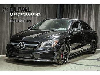 2016 Mercedes-Benz AMG CLA 45 4MATIC DRIVER AMG PACKAGE
