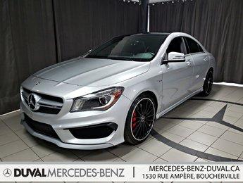 2016 Mercedes-Benz AMG CLA 45 4MATIC
