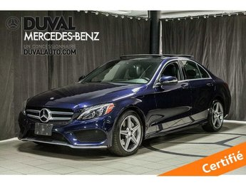 2015 Mercedes-Benz C-Class C300 4MATIC SPORT LED CAMERA