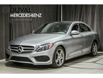 2015 Mercedes-Benz C-Class C300 4MATIC LED GPS TOIT PANO