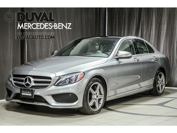 2015 Mercedes-Benz C-Class C300 4MATIC ENSEMBLE SPORT AMG TOIT PANO LED
