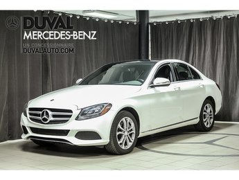 2015 Mercedes-Benz C-Class C300 4MATIC GPS TOIT PANO BLUETOOTH