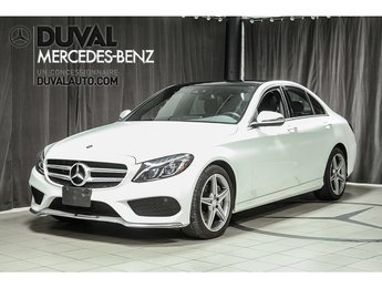 2016 Mercedes-Benz C-Class C300 4MATIC LED SPORT PACK TOIT PANO