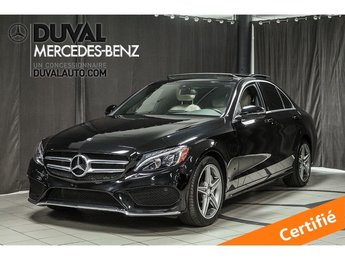 2017 Mercedes-Benz C-Class C300 4MATIC SPORT LED TOIT PANO CAMERA