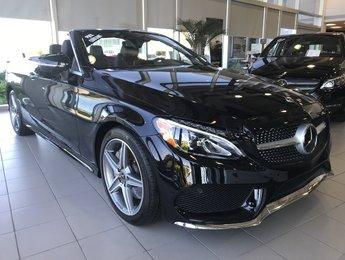 2018 Mercedes-Benz C300 4matic Cabriolet DEMO RABAIS inclus de 10.334$
