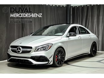 2018 Mercedes-Benz CLA45 AMG CLA45 AMG Driver's Package + Exclusive