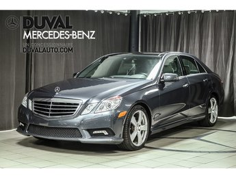 2011 Mercedes-Benz E-Class E350 4MATIC BLUETOOTH CAMERA RECUL