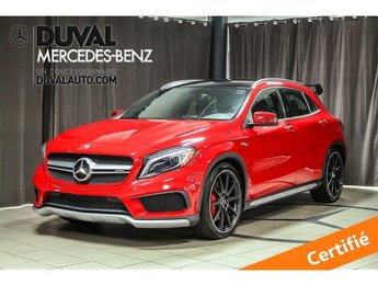 2015 Mercedes-Benz GLA-Class GLA45 AMG 4MATIC DRIVER'S PACKAGE
