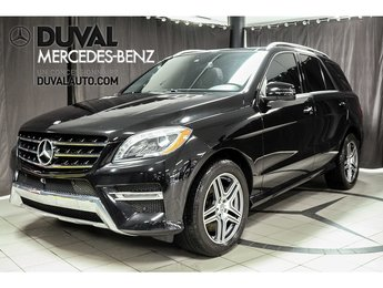 2014 Mercedes-Benz M-Class ML350 4MATIC ESSENCE XENON SPORT PACK GPS