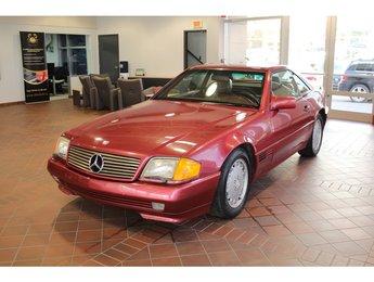 1990 Mercedes-Benz 560 Series 500SL Rouge sur Rouge! Siège mémoire