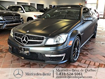 2012 Mercedes-Benz C-Class C 63 AMG Edition 1