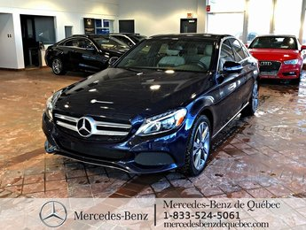 2016 Mercedes-Benz C-Class C300 4MATIC, toit pano, navi, cam recul
