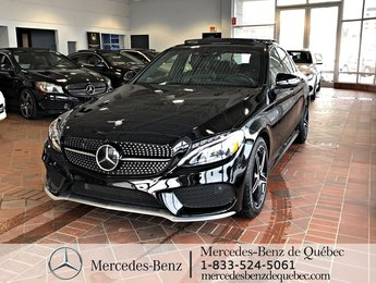 2016 Mercedes-Benz C-Class C450 4MATIC, distronic, toit pano, cam recul