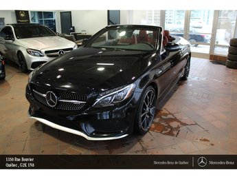 2017 Mercedes-Benz C-Class C43 AMG 4MATIC cabriolet, navi, Distronic plus