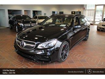 2016 Mercedes-Benz E-Class E63 S 4MATIC Familiale, toit pano, navi, caméra