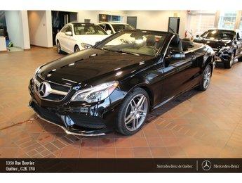 2016 Mercedes-Benz E-Class E550 Cabriolet, navi, caméra, Sirius