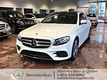 2018 Mercedes-Benz E-Class E400 4MATIC, distronic, toit pano, cam 360