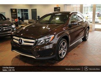 2015 Mercedes-Benz GLA-Class GLA250 4MATIC, navi, Sirius