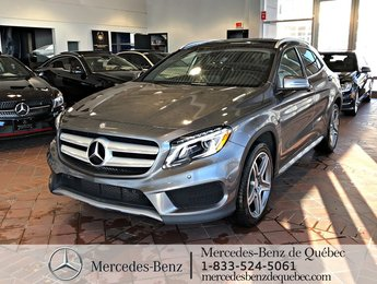 2017 Mercedes-Benz GLA-Class GLA250 4MATIC, cam recul, parktronic, toit pano