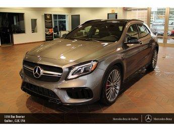 2018 Mercedes-Benz GLA-Class GLA45 AMG 4MATIC, toit pano, navi, caméra