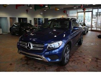 2018 Mercedes-Benz GLC-Class GLC300 4MATIC, toit pano, parktronic, cam 360.