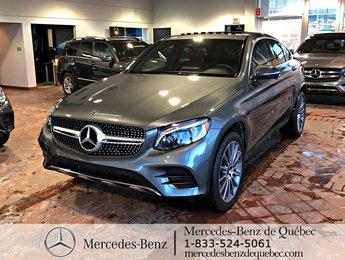 2018 Mercedes-Benz GLC-Class GLC300 4MATIC Coupe, parktronic, cam 360. navi