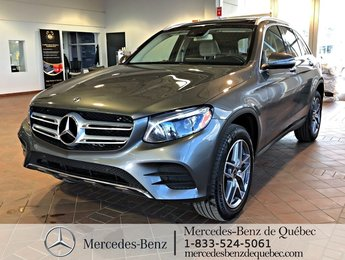 2018 Mercedes-Benz GLC-Class GLC 300 Premium Pack, Sport Pack, Light Pack.