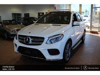 2018 Mercedes-Benz GLE-Class GLE400 4MATIC, toit pano, navi, caméra 360, Sirius