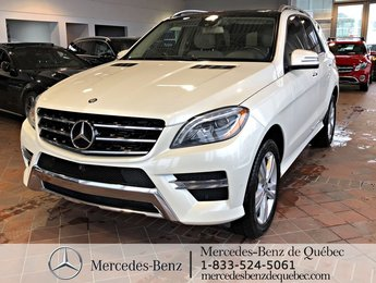 2014 Mercedes-Benz M-Class ML350 BlueTec 4MATIC, bi-xenon, toit pano