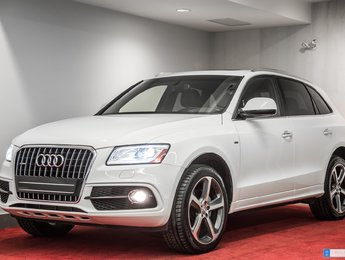 2015 Audi Q5 2.0T Technik **PACKAGE S-LINE**