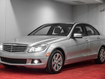 2011 Mercedes-Benz C-Class C250 4MATIC **CUIR+GPS+JAMAIS ACCIDENTÉ**
