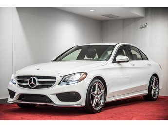 2015 Mercedes-Benz C-Class C300 4MATIC **ENSEMBLE AMG**