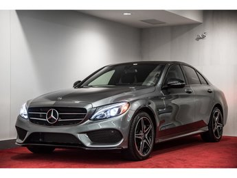 2018 Mercedes-Benz C-Class C300 4MATIC **ENS. PREMIUM 1 + NIGHT PACKAGE**