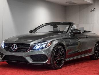 2018 Mercedes-Benz C-Class C 300 4MATIC Cabriolet **3 MENSUALITÉS GRATUITES**