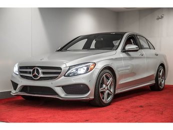 2016 Mercedes-Benz C300 4MATIC **GROUPE PREMIUM 1 & 2 + ENSEMBLE AMG**