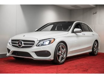 2018 Mercedes-Benz C300 4MATIC *GROUPE PREMIUM+ENSEMBLE SPORT**