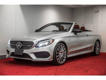 2017 Mercedes-Benz C43 AMG 4MATIC CABRIOLET **CUIR AMG+ENS. PREMIUM+FULL DEL**