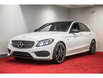 2018 Mercedes-Benz C43 AMG **NAV+EXHAUST PERFORMANCE+CUIR AMG**
