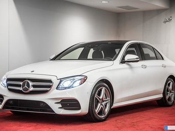 2018 Mercedes-Benz E400 4MATIC Sedan