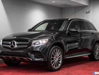 2017 Mercedes-Benz GLC-Class 300 4MATIC **MAGS 20 PO + INT EXCLUSIF**