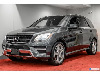 2014 Mercedes-Benz M-Class ML350 4MATIC DIESEL **11 000$ D'OPTION**