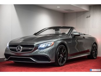 2017 Mercedes-Benz S63 AMG CABRIOLET **LUXE & PERFORMANCE**