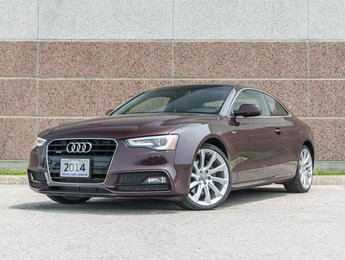 2014 Audi A5 2.0 6sp Technik Cpe