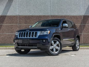 2012 Jeep Grand Cherokee Overland 4D Utility 4WD