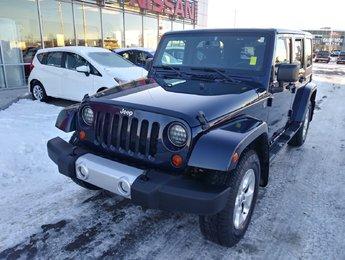2013 Jeep SUV 4WD Wrangler Unlimited Sahara Sahara