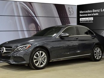 2015 Mercedes-Benz C300 4matic Sedan D.E.L, Peinture Metallisee, Suspensio