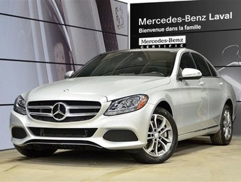 2015 Mercedes-Benz C300 4matic Sedan Navi, Toit Pano, Camera DE Recul, Pei